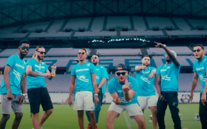 "ul, SCH, Kofs, Naps, Soso Maness, Elams, Houari et Sold, dans le clip de ""Bande organisée""."